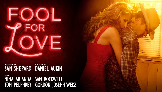 Fool For Love Theater lobby Poster