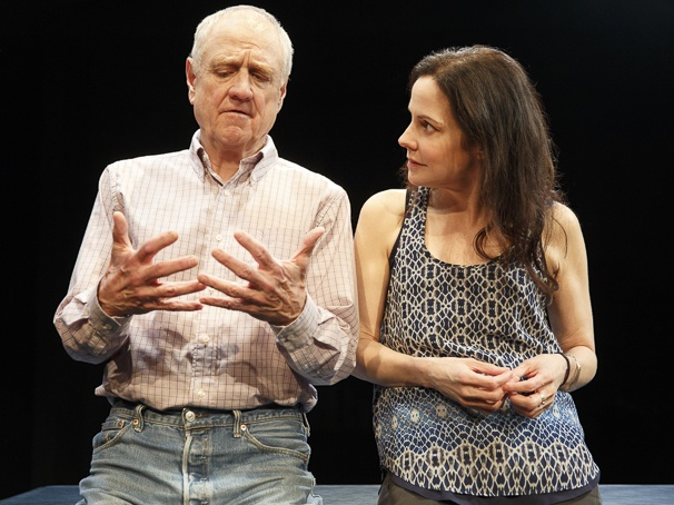 (Denis Arndt and Mary-Louise Parker.  Photo Joan Marcus)