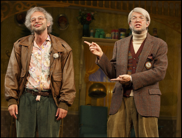Nick Kroll (Gil Faizon) and John Mulaney (George St. Geegland)