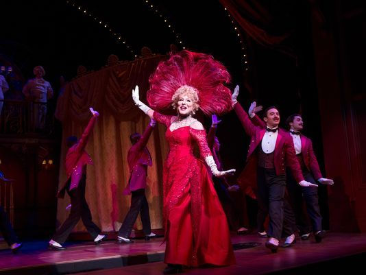Bette Midler is Dolly Levi in Broadway's Hello Dolly!