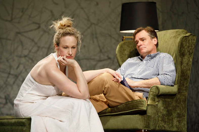 Katie Finneran and Robert Sean Leonard in Home At the Zoo. Photo: Joan Marcus